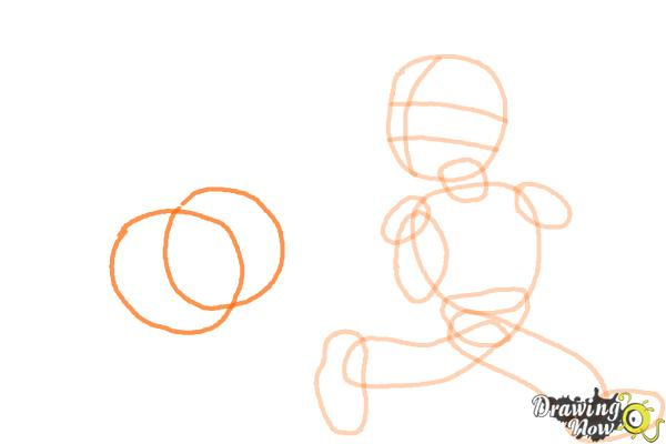 How to Draw Football Players - Step 6