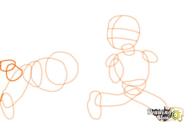 How to Draw Football Players - Step 8