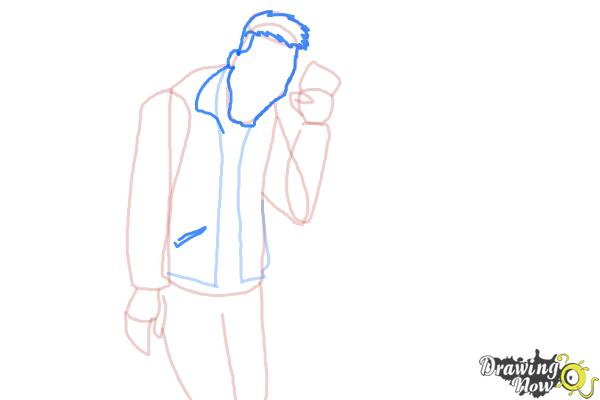 How to Draw Slo Mo, Sloman Mortavitch from Monster High - Step 7