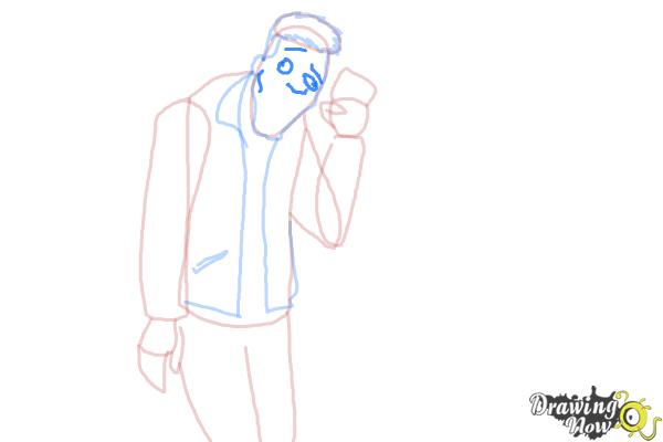 How to Draw Slo Mo, Sloman Mortavitch from Monster High - Step 8