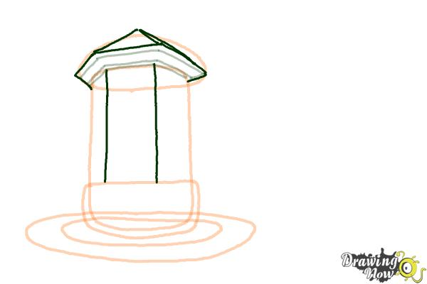 How to Draw a Dream House - Step 5