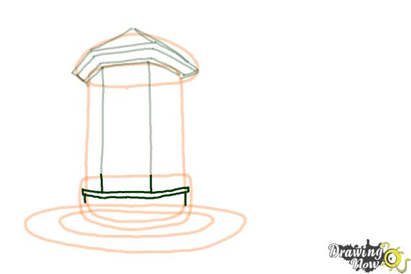 How to Draw a Dream House - Step 6