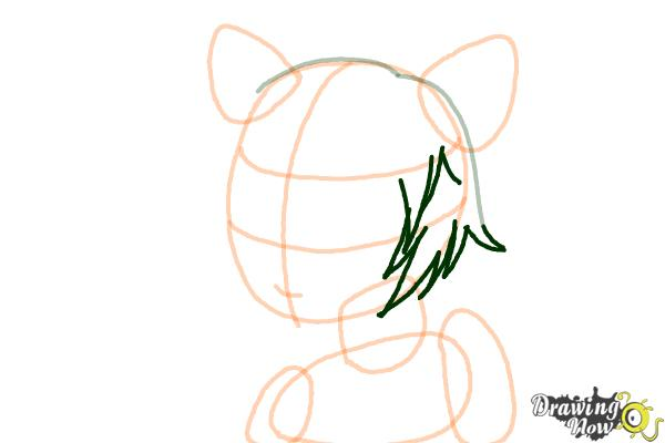 How to Draw Sinon, Shino Asada from Sword Art Online - Step 5