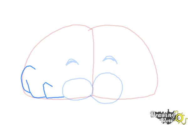How to Draw a Brain For Kids - Step 5