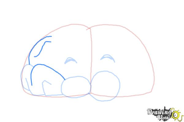 How to Draw a Brain For Kids - Step 6