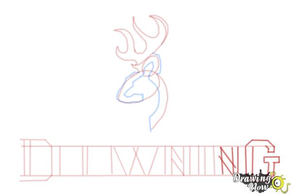 How to Draw a Browning Symbol - Step 10