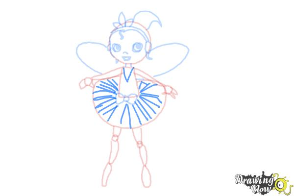 How to Draw a Dancer - Step 10