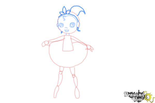 How to Draw a Dancer - Step 8