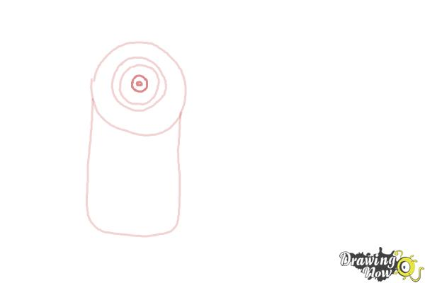 How to Draw Despicable Me Minions - Step 4
