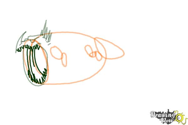How to Draw a Thunderdrum Dragon from How to Train Your Dragon - Step 3