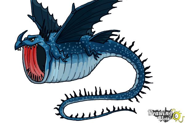 How to Draw a Thunderdrum Dragon from How to Train Your ...