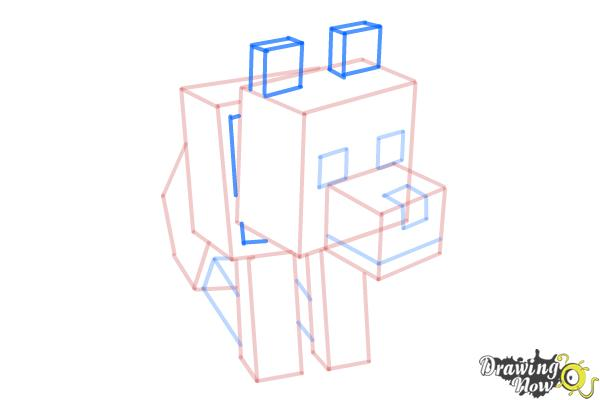 Gallery For gt Minecraft Drawing