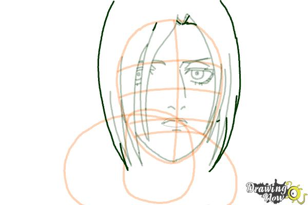 How to Draw Annie Leonhart from Shingeki No Kyojin - Step 10