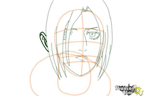 How to Draw Annie Leonhart from Shingeki No Kyojin - Step 11