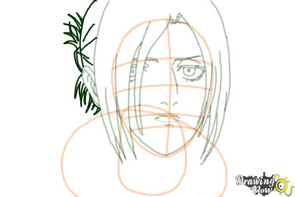 How to Draw Annie Leonhart from Shingeki No Kyojin - Step 12