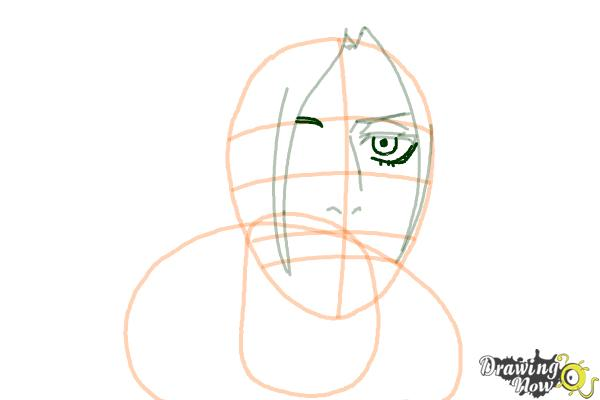How to Draw Annie Leonhart from Shingeki No Kyojin - Step 7