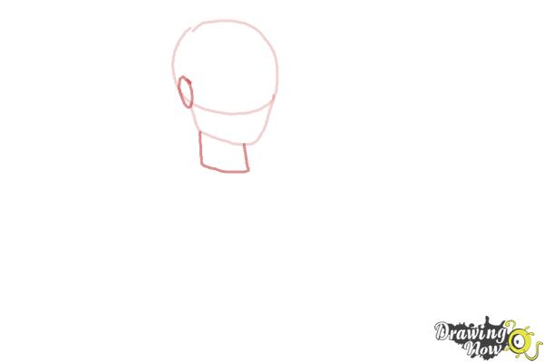 How to Draw Hunter Huntsman The Son Of The Huntsman from Ever After High - Step 2