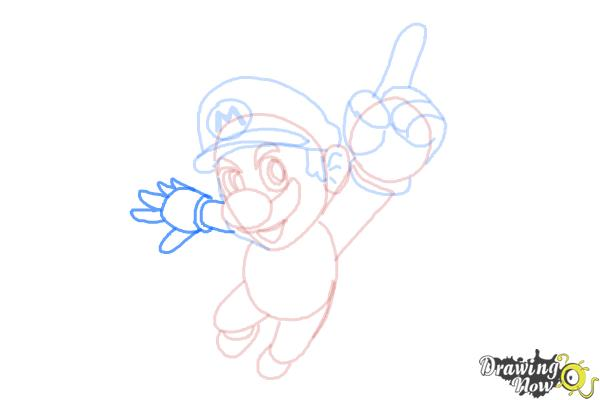 How to Draw Video Game Characters - Step 13