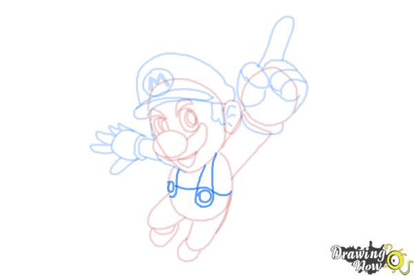 How to Draw Video Game Characters - Step 14