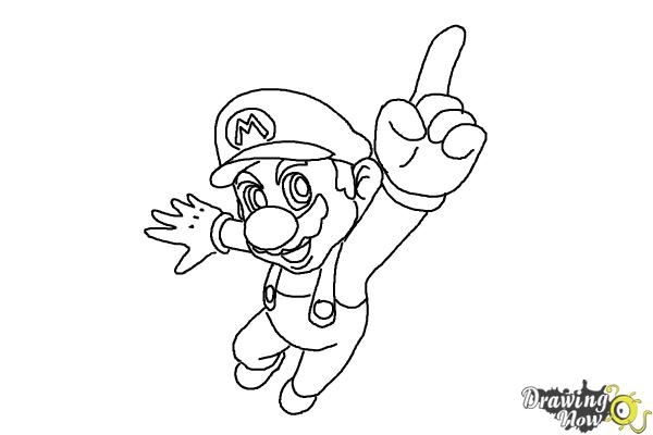 How to Draw Video Game Characters - Step 15