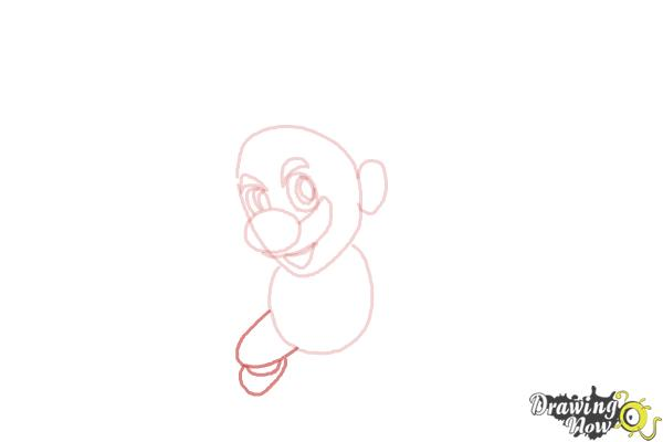 How to Draw Video Game Characters - Step 6
