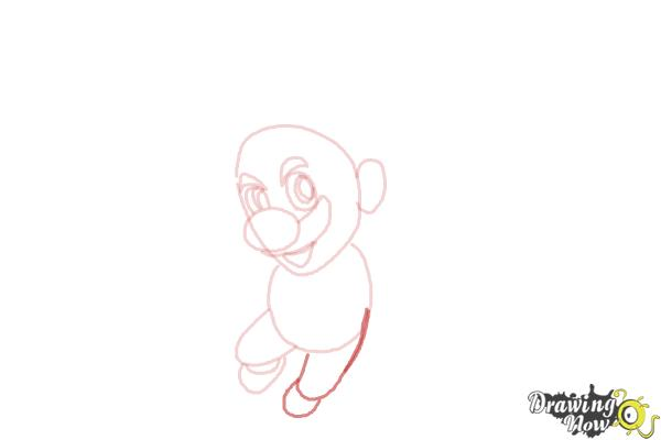 How to Draw Video Game Characters - Step 7