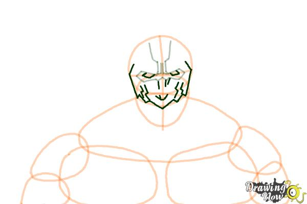 How to Draw Armored Titan from Shingeki No Kyojin - Step 5
