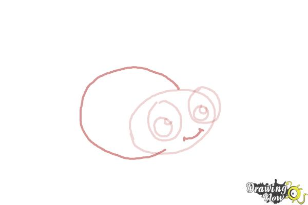 How to Draw a Ladybug For Kids - Step 4