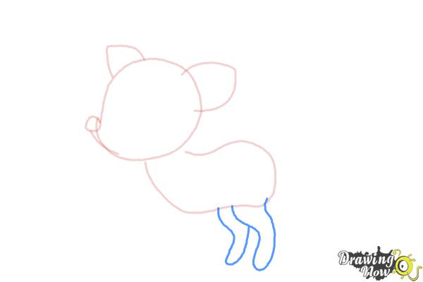 How to Draw a Deer For Kids - Step 4