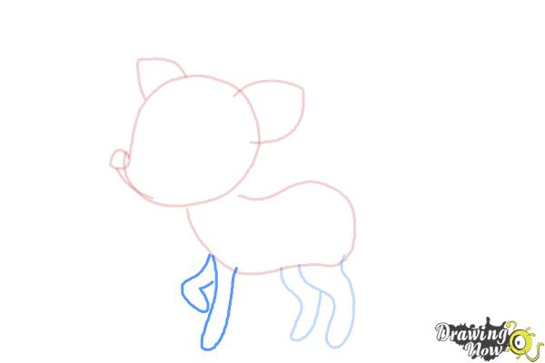 How to Draw a Deer For Kids - Step 5