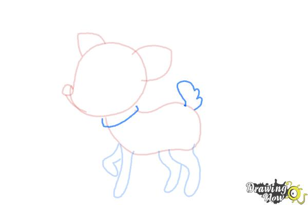 How to Draw a Deer For Kids - Step 6