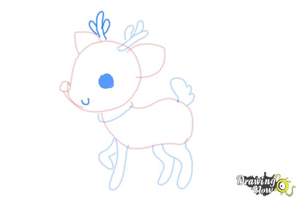 How to Draw a Deer For Kids - Step 8