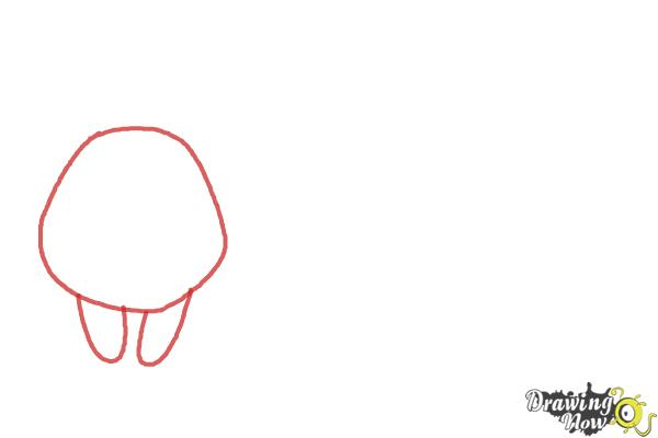 How to Draw Farm Animals For Kids - Step 1