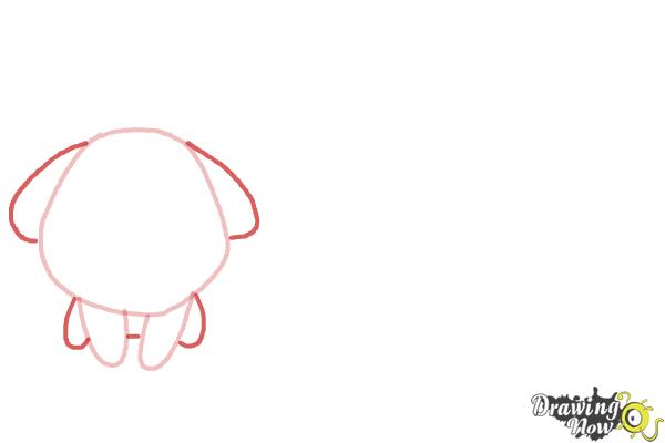 How to Draw Farm Animals For Kids - Step 2