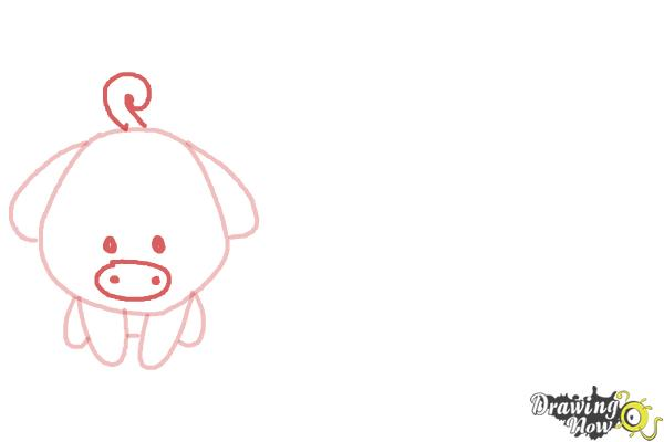 How to Draw Farm Animals For Kids - Step 3