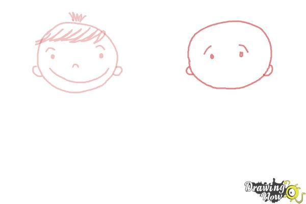How to Draw a Face for Kids - Step 4