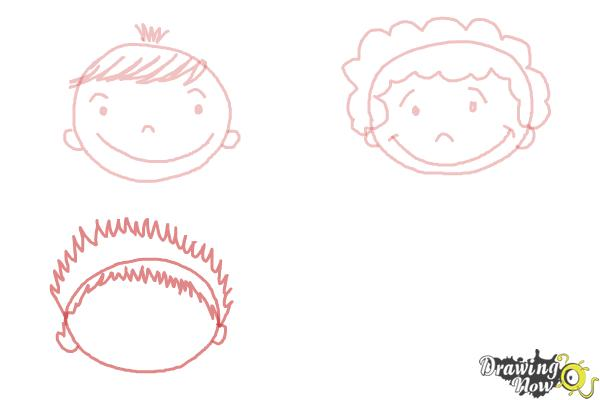 How to Draw a Face for Kids - Step 6