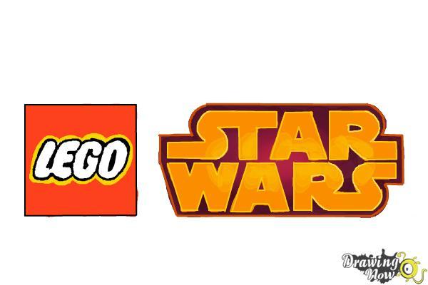 How to Draw Lego Star Wars - Step 10