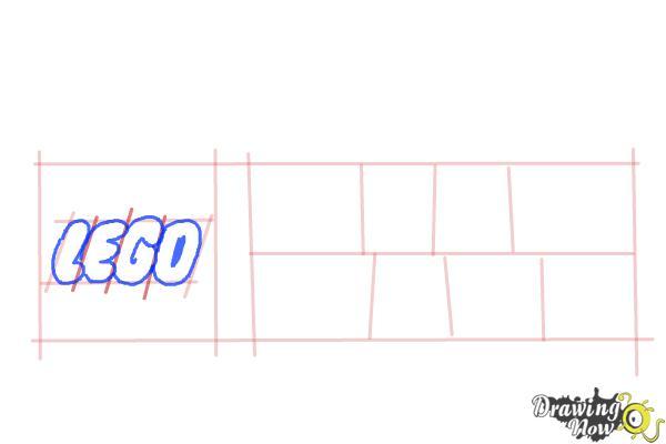 How to Draw Lego Star Wars - Step 4