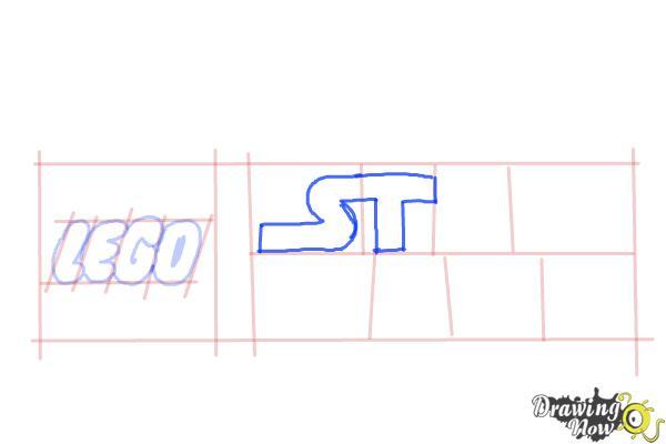 How to Draw Lego Star Wars - Step 5