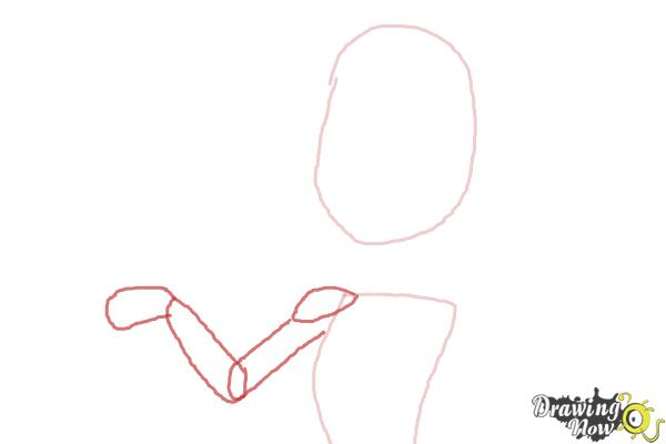 How to Draw C.A Cupid from Ever After High - Step 2