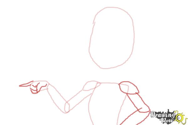 How to Draw C.A Cupid from Ever After High - Step 3