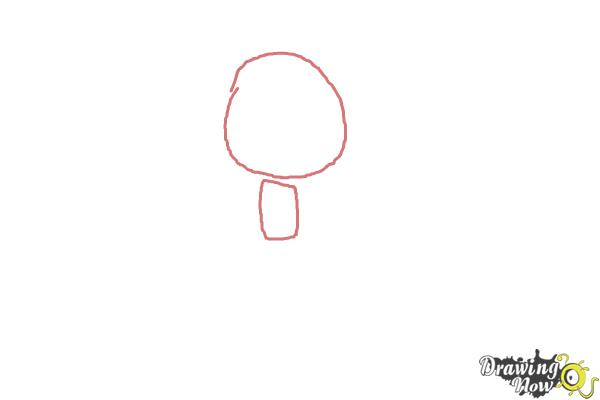 How to Draw Chibi Taylor Swift - Step 1