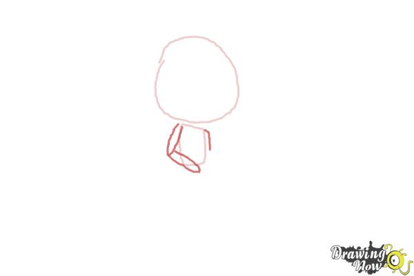 How to Draw Chibi Taylor Swift - Step 2