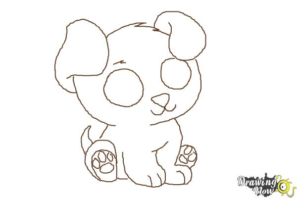 How To Draw A Chibi Puppy