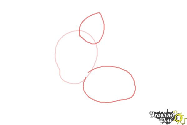 How to Draw Chibi Pinkie Pie from My Little Pony Friendship Is Magic - Step 2