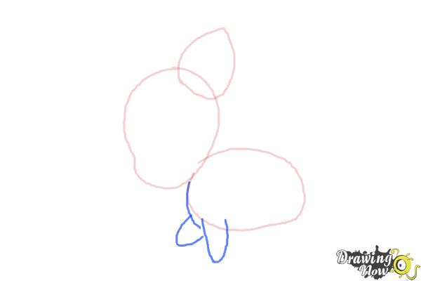 How to Draw Chibi Pinkie Pie from My Little Pony Friendship Is Magic - Step 3