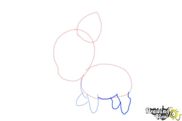 How to Draw Chibi Pinkie Pie from My Little Pony Friendship Is Magic - Step 4