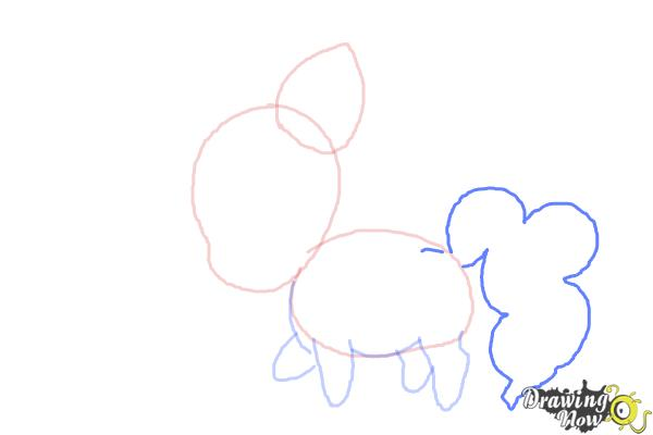 How to Draw Chibi Pinkie Pie from My Little Pony Friendship Is Magic - Step 5