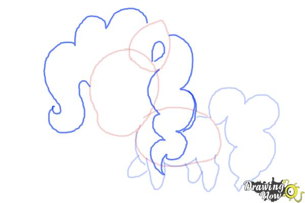 How to Draw Chibi Pinkie Pie from My Little Pony Friendship Is Magic - Step 6